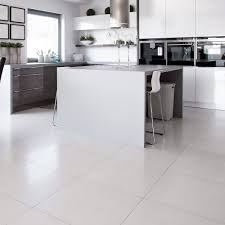 white floor tiles kitchen. Unique Floor White Square Polished Porcelain Tiles  With Floor Kitchen E