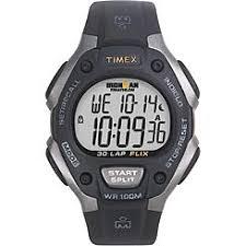 men s watches cross training kmart timex mens 30 lap ironman watch black resin band