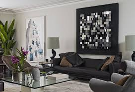 image of great modern wall decor for living room