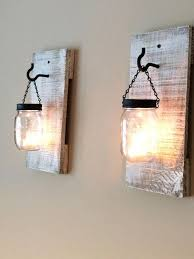 Lighting: Diy Wooden Lamp With Jars - Wood Lights