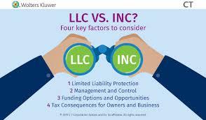 Llc Vs Inc Business Type Comparison Ct Corporation