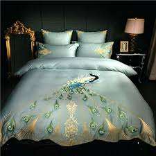 luxury duvet covers embroidery luxury bedding set queen king size duvet cover bed sheet set cotton