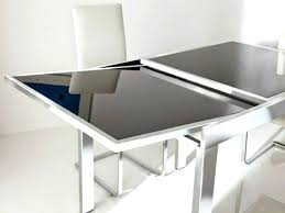 extendable glass dining table designs expandable black and 6 chairs extended glass dining table expandable room remodel