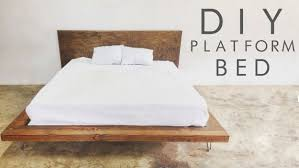 DIY Modern Platform Bed | Easy To Build DIY Platform Beds Perfect For Any  Home