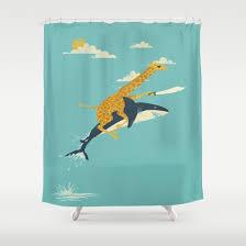 Customize your bathroom decor with unique shower curtains designed .