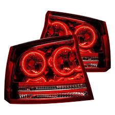 oracle lighting oem style tail lights with 6000k white ccfl halos preinstalled