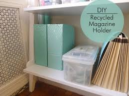 How To Make A Magazine Holder From Cardboard Mesmerizing How To Make A Magazine Holder Out Of Cardboard 32 Best Make Images