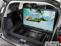 tv in car. sstp 1110 07 scion 2011 sema show vehicle guide+tv up tv in car g