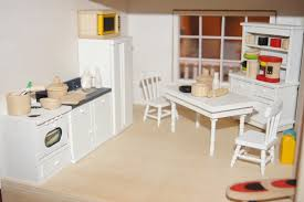 Kitchen Dollhouse Furniture Gcm Turnings Craft Melissa Doug Doll House Makeover Part 1