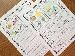 writing journals and paper  kindergarten writing journals