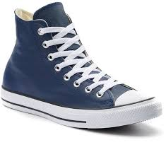 converse all star chuck taylor leather high top sneakers