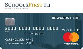 Compare credit card rewards 2018. Schoolsfirst Fcu Products Services