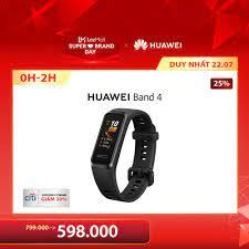 Giá bán   Vòng đeo tay thông minh Huawei Band 4   Thiết kế trẻ trung, trải  nghiệm hoàn hảo   Mặt đồng hồ sáng tạo