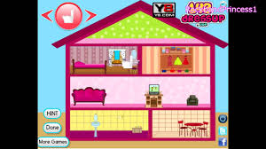 barbie fan room decoration girl games kids wondrous doll house
