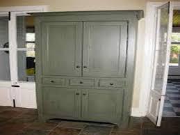 free standing kitchen pantry buffet