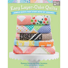 Simple quilts from Me and My Sister Designs - Layer-Cake style! (+ ... & ... are famous for those little tricks that make simple blocks look more  complex than they truly are. And in Easy Layer-Cake Quilts, they're at it  again! Adamdwight.com