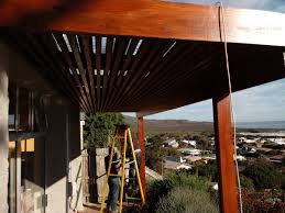 view larger image wooden sun shade awning cape town cape decking 2