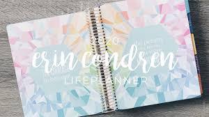 Hourly Planner 2020 Erin Condren 2019 2020 Lifeplanner Sneak Peak Colorful Hourly