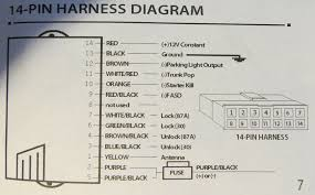 keyless entry remote rear window write up ford truck here is the module wiring diagram for what the wire colors of the harness go to