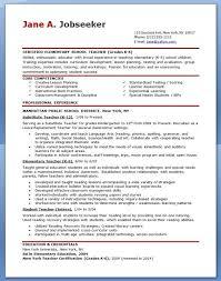Resume Templates For Teachers Lovely Free Sample Teacher Resume