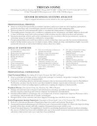 Systems Analyst Resume Financial Analyst Resume Financial Analyst ...