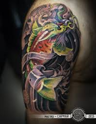 карп с головой дракона фото татуировок