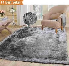 monumental fluffy rug modern thick plush soft pile living room bedroom floor