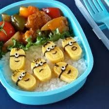 Easy Tamagoyaki Minions :) | Bento box recipes, Lunch box recipes, Bento  box lunch