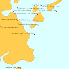 Portland Head Light Casco Bay Maine Tide Chart