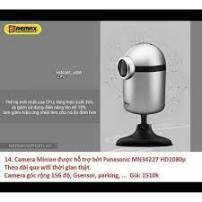 Camera hành trình ô tô minion có wifi Remax