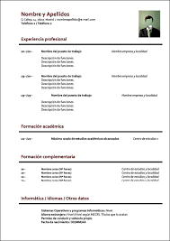 Formato De Resumes Under Fontanacountryinn Com