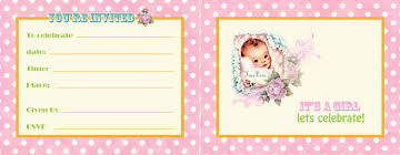 Free Printable Baby Shower Invitations For Girls Free Printable Baby Shower Invitations