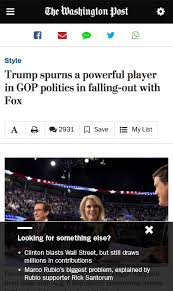 "under bezos the washington post is making its ads ""all about another mobile only tool fuse it instantly loads post branded content or direct ads which are distinguished by a lightning bolt as both are hosted"