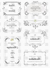 corner of decorative frame vector vintage decorative frames with ornamental corners vector clipart