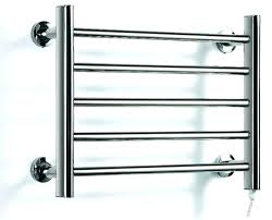 towel warmer rack. Towel Rack Warmer Heated Rail Holder Bathroom Accessories Stainless Steel Electric .