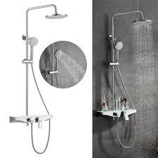 3 Auslauf Duschset Duschsystem Regendusche Duschgarnitur