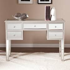 silver painted furniture. Southern Enterprises Elberta Silver Mirrored Console Table Painted Furniture U