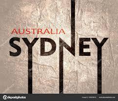 Sydney Name Design Sydney City Name Stock Photo Jegas_ra 309649818