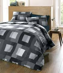 Black And Silver Bed Set Black And Grey Quilt Black Charcoal Grey ... & black and silver bed set black and grey quilt black charcoal grey quilt  cover set king Adamdwight.com