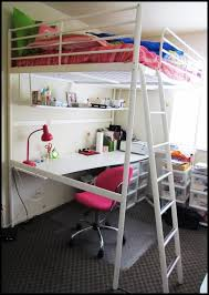 bedroom ikea tromso full size loft bed with desk full size loft bed with desk