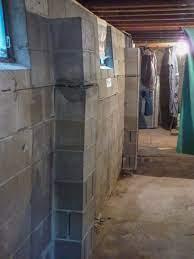 bowing foundation wall repairs