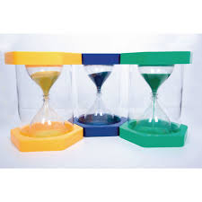 Set Timer 1 Minutes Giant Clearview Sand Timer 1 Minute