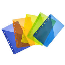 Avery Mini Binder Pockets Assorted Colors Fits 3 Ring And 7 Ring