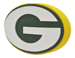 Green Bay Packers 3D Logo Wall Sign