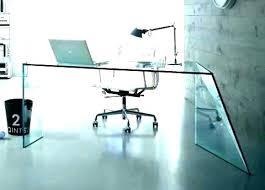 home office glass desks. Enchanting Modern Glass Desk Office Home Desks