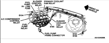 fuel pump relay and fuse location i have looked for the relay image click to enlarge