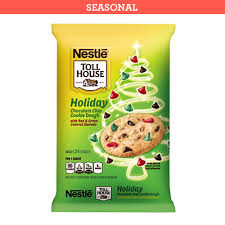 nestle christmas cookies. Exellent Christmas NESTL TOLL HOUSE Holiday Chocolate Chip Cookie Dough In Nestle Christmas Cookies Very Best Baking