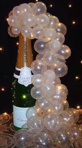 Wine Bottle Balloon Decoration