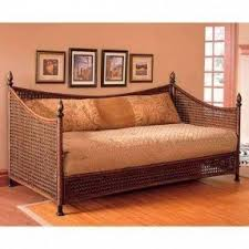 wicker day bed. Exellent Day Wicker Daybed Frame 1 Throughout Day Bed O
