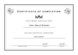 Printable Achievement Certificates Free Certificate Template